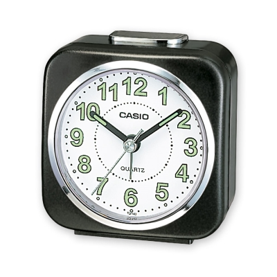 CASIO 桌上型指針鬧鐘(黑、藍、銀)-多色可選