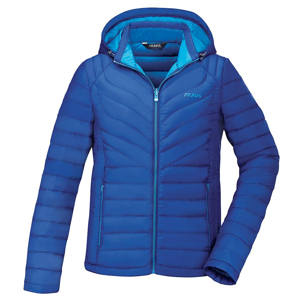 【ATUNAS 歐都納】男款輕量羽絨透氣防潑水保暖外套A3-G1751M深藍