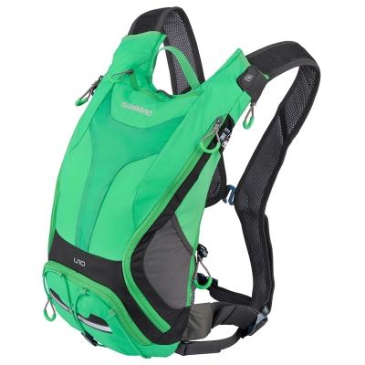 SHIMANO UNZEN 登山車水袋後背包10L 深灰綠