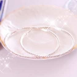 Aimee Toff 綺麗透晶序曲水鑚耳環(中)