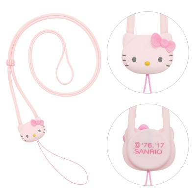 GARMMA Hello Kitty 長掛繩 –甜蜜粉
