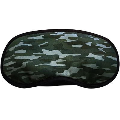 DQ 舒適旅用眼罩(迷彩綠)
