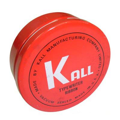 KALL  K.O.N 傳統手動機械式打字機 色帶(黑色&紅色)
