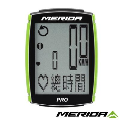 《MERIDA》美利達 PRO碼錶 黑/綠 35功能 1194