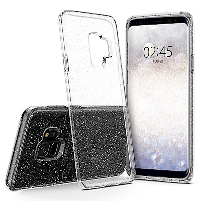 Spigen Galaxy S9 Liquid Crystal 超輕薄型彈性保護殼