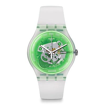 Swatch The Swatch Vibe GREENMAZING 迷幻亮綠手錶