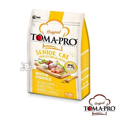 TOMA PRO 優格 高纖低脂 雞肉+米 高齡貓 飼料 3公斤