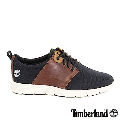 Timberland 男款Killington皮革布面淺口鞋