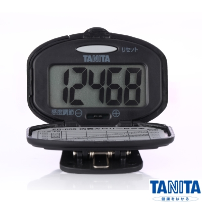 日本 TANITA 標準型計步器 PD-635 (黑)