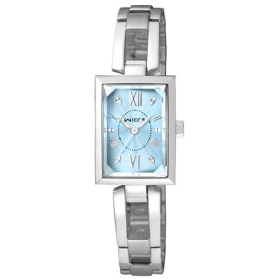 CITIZEN WICCA 傾訴愛戀氣質時尚腕錶(BE1-011)-藍/18mm