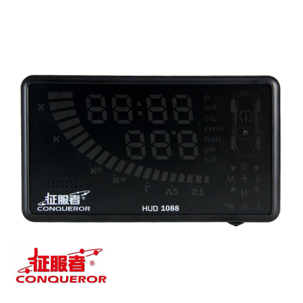 征服者 HUD1088 抬頭顯示型 WIFI更新固定測速器-快
