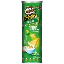 Pringles品客 洋芋片-洋蔥(110g)