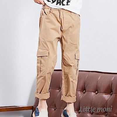Little moni 休閒百搭工作褲 (2色可選)