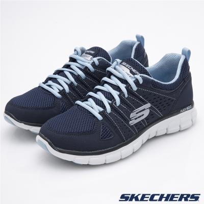 SKECHERS-女-運動系列-Synergy-11963NVLB