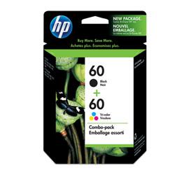 HP CN067AA NO.60黑+60彩 原廠墨水組合包