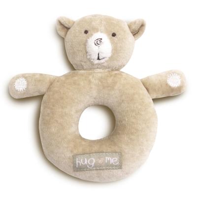 英國Natures Purest天然有機棉-抱抱熊搖把(PTHM0110650)