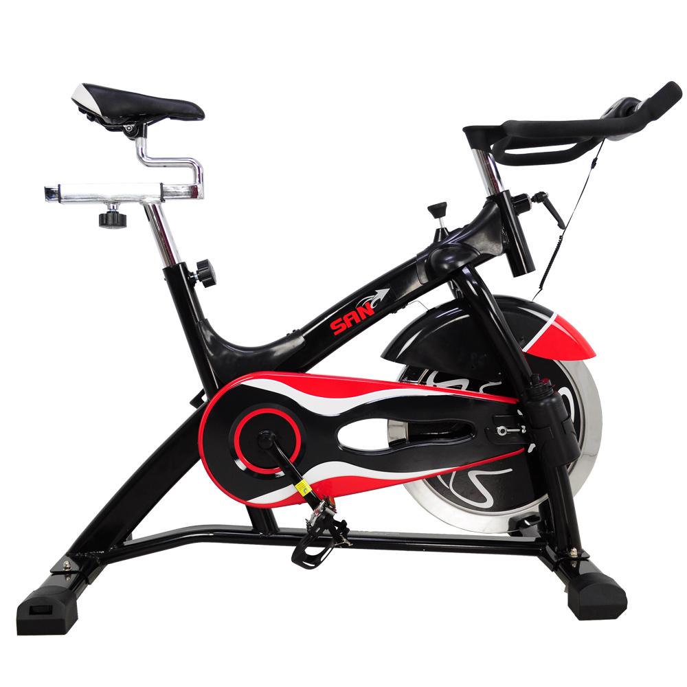 【SAN SPORTS 】黑爵士23KG飛輪健身車