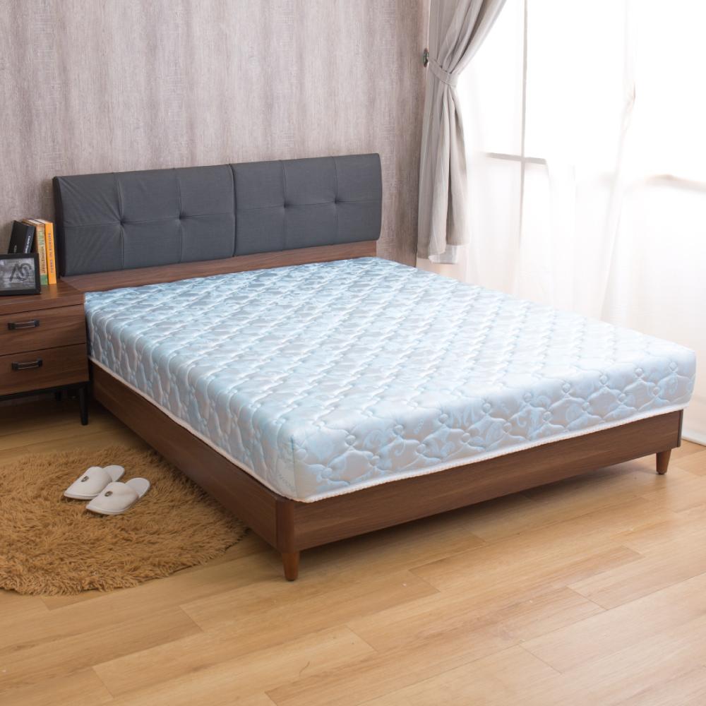 璐易絲系列 特級透氣款-歐式緹花冬夏兩用5尺彈簧床墊