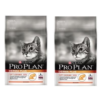 Pro Plan冠能 成貓鮭魚化毛加強配方 2.5kg X2包