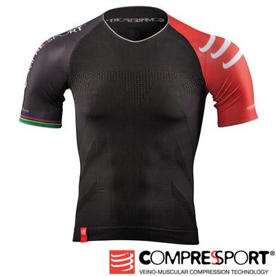瑞士Compressport運動機能壓縮-三鐵衣-黑