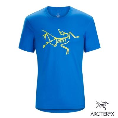 Arcteryx 始祖鳥 24系列 男 有機棉 短袖T恤 藍