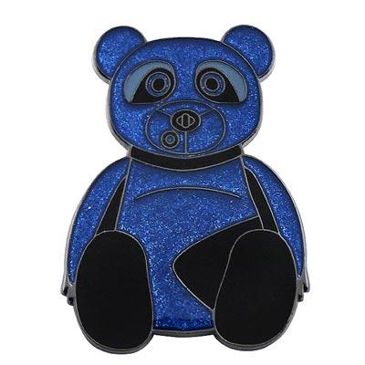 COACH 限量版藍色泰迪熊別針