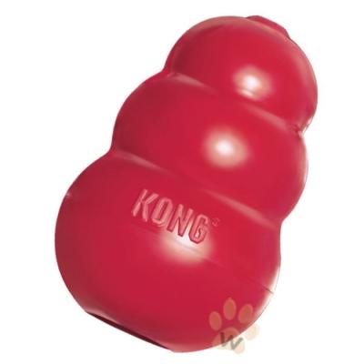 美國KONG 紅色經典葫蘆抗憂鬱玩具 L號