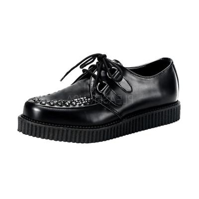 DEMONIA經典基本款龐克鞋-黑