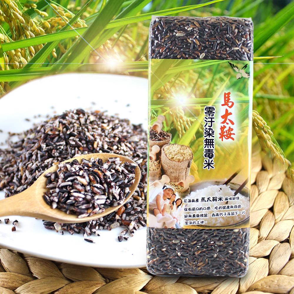 善耕嚴選 馬太鞍無毒米-紫米(1000g/包)