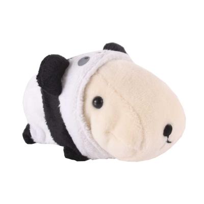 kapibarasan 水豚君變裝系列毛絨抱枕。懷特小姐