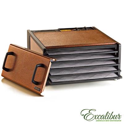 Excalibur-伊卡莉柏時尚彩色系列五層乾果機-五色