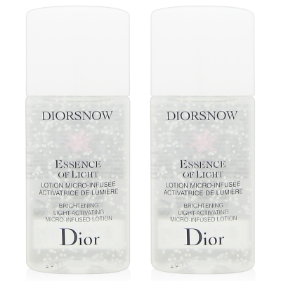 Dior迪奧 雪晶靈透亮水凝露15mlx2入組
