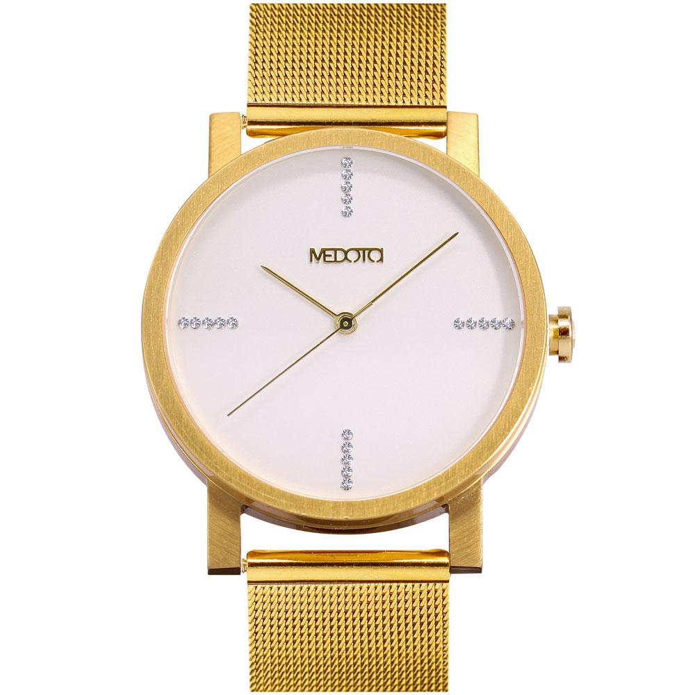 MEDOTA 極簡輕薄手錶- 奢華系列 – 男錶 金色/40mm