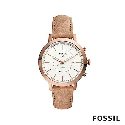 FOSSIL Q NEELY 智慧手錶-玫瑰金沙