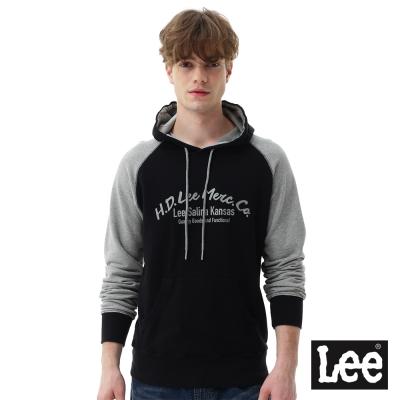Lee  HD LEE連帽厚T恤/RG-男款-藍