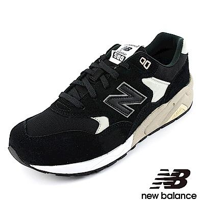 New Balanc 580復古鞋MRT580BN-D男黑色