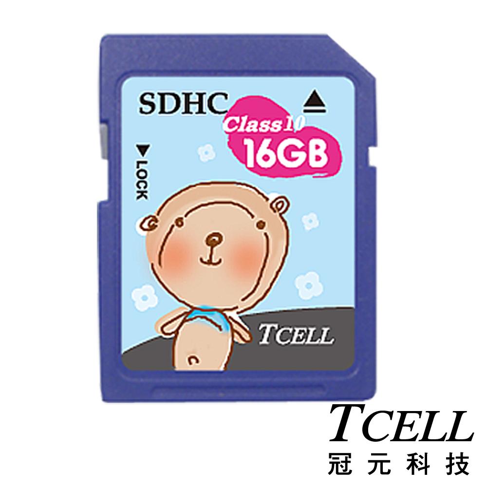 TCELL 冠元-16GB SDHC (Class 10) 10入組 幸福手繪記憶卡