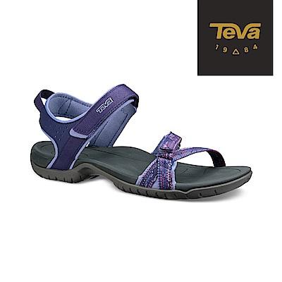 TEVA 美國 女 Verra 多功能運動涼鞋 彩灰紫