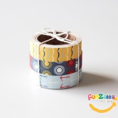 Fabric Tape布柄緞帶貼24-Sailing