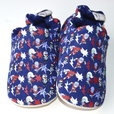 英國 POCONIDO 手工嬰兒鞋 (超級英雄)