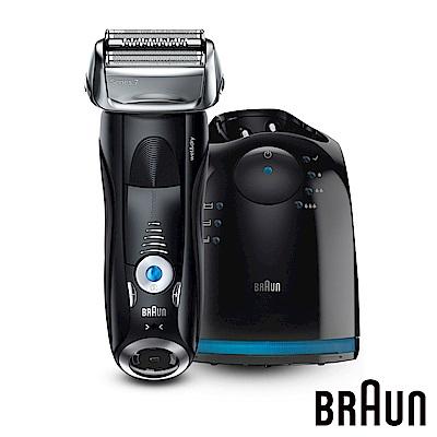 (無卡分期-12期) 德國百靈BRAUN-7系列智能音波極淨電鬍刀7880cc
