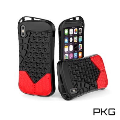 PKG  Apple IPhone X 抗震防護手機殼套-運動系列