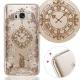KnowStar 三星 Galaxy S8 奧地利水晶彩繪防摔手機鑽殼-懷錶兔 product thumbnail 1