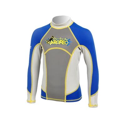 AROPEC Skipjack飛魚兒童長袖防曬衣藍