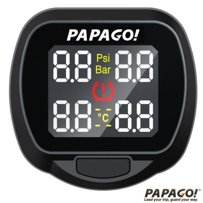 PAPAGO ! TireSafe S20E獨立型胎壓偵測器 (胎外式)