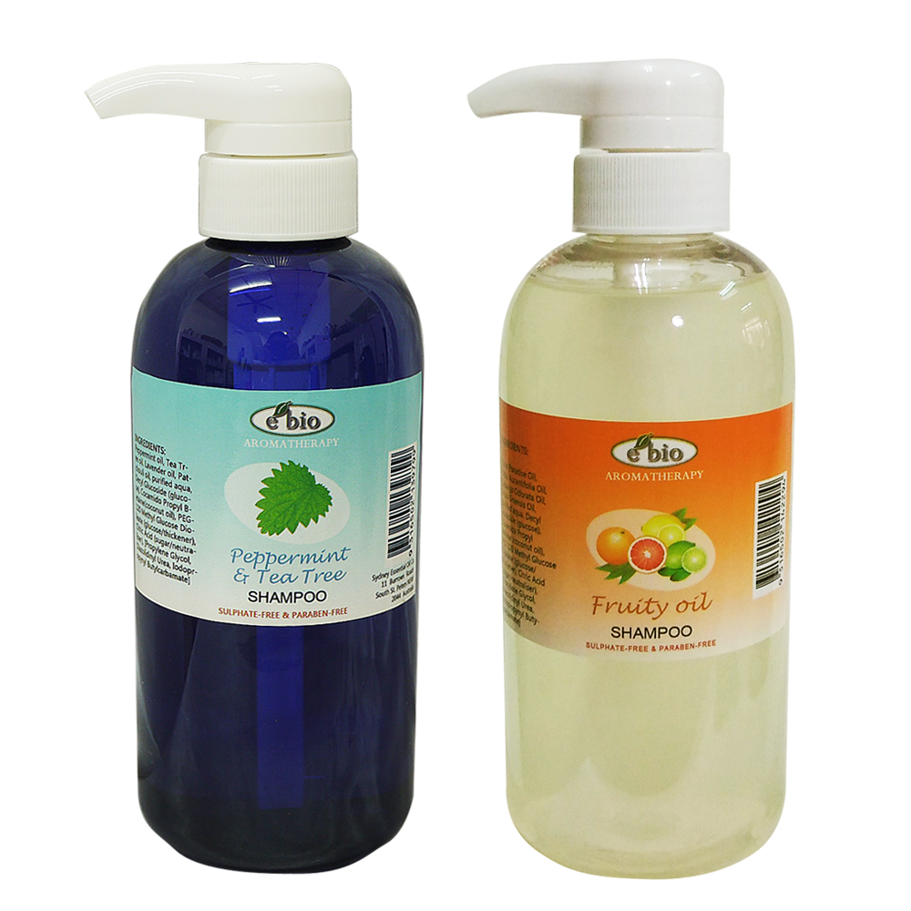 e bio伊比歐 油性髮質洗髮2件組