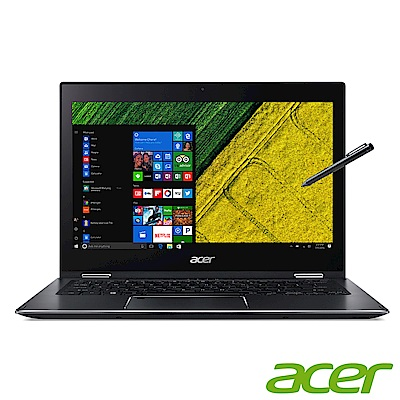 acer SP513-52N-55WE 13吋筆電(i5-8250U/8G/256G/銀