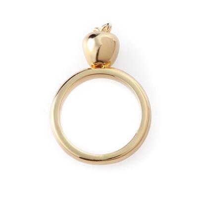 迪士尼 DISNEY COUTURE 白雪公主 金色蘋果戒指 細緻立體款