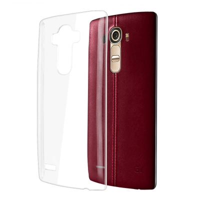 透明殼專家 LG G4 超薄.抗刮.高透光保護殼+保貼組