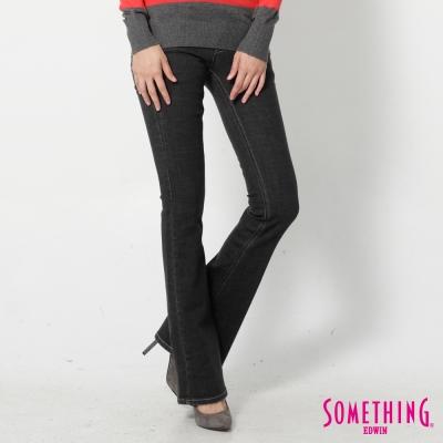 SOMETHING-靴型褲-NEO-FIT低腰牛仔